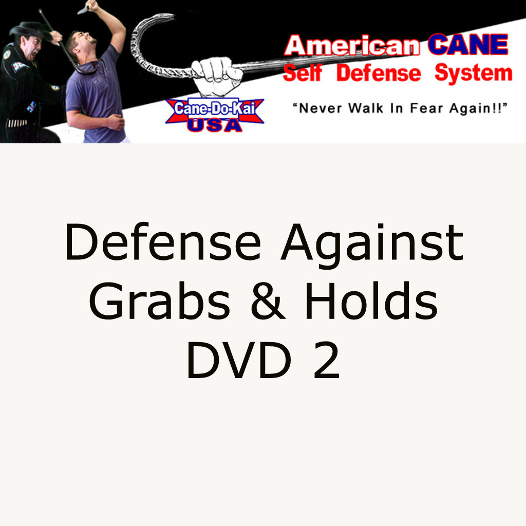 DVD 2, Snap, Crackle, POP.  Defense Against Grabs and Holds