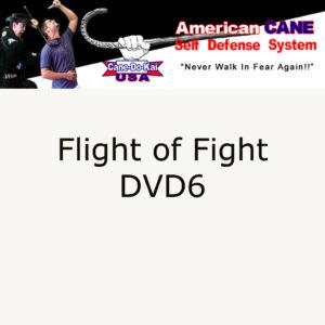 Cane Self Defense DVD, Flight, or Fight