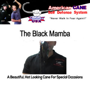 ACSD Black Mamba Self Defense Cane