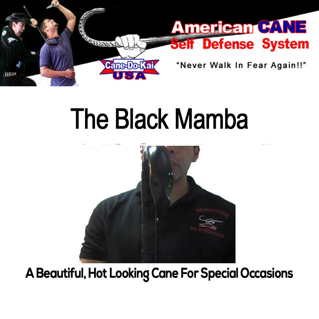 ACSD Black Mamba Self Defense Cane