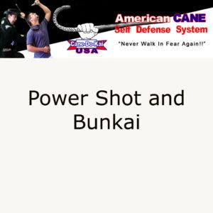 The Power Shot Kata and Bunkai