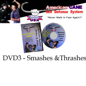 Cane Self Defense DVD 3