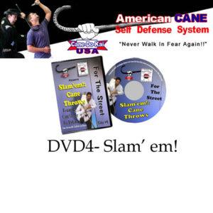 Cane Self Defense DVD 4