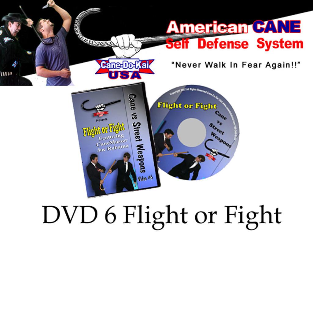 Cane Self Defense DVD 6