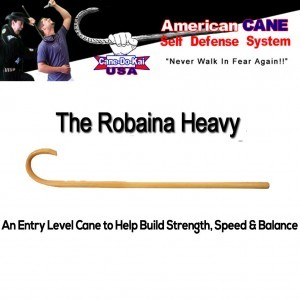 The Robaina Heavy Self Defense Training Cane