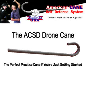 ACSD Drone Self Defense Training Cane
