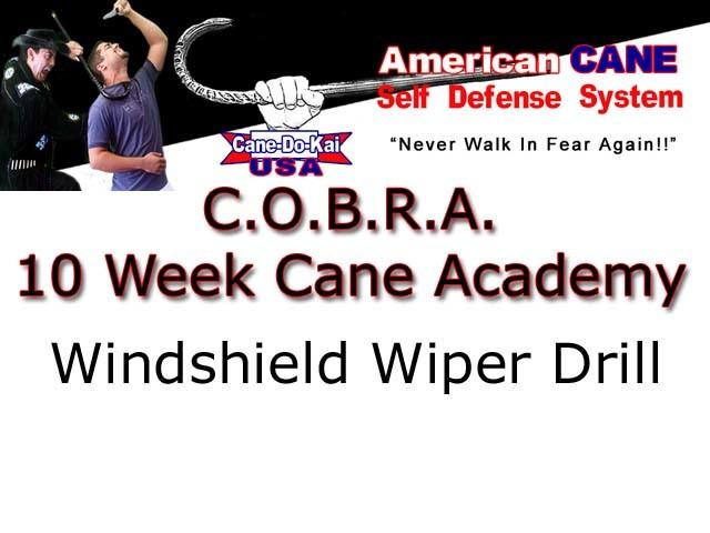 Windshield Wiper Drill