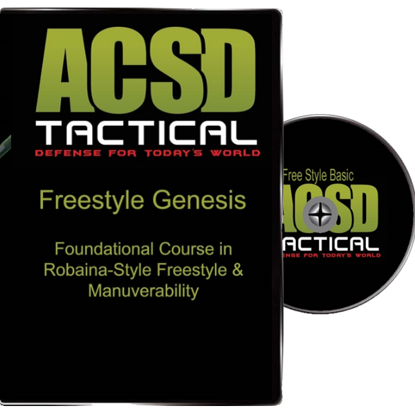 Freestle Genesis Cane Self Defense DVD by American Cane Self Defense.